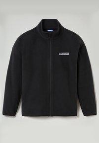 Napapijri - T-BOX FULL ZIP - Fleece jacket - black 041 - 1