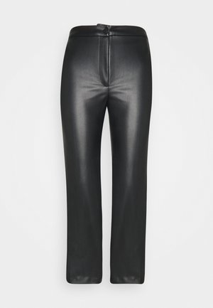 WENDY TROUSERS - Bukse - black dark
