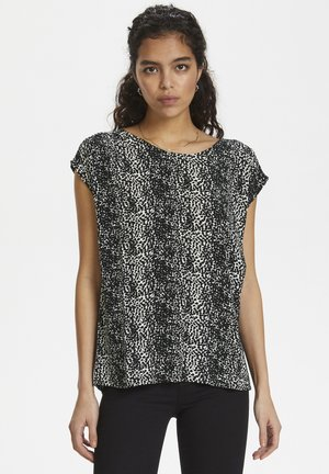 ZAYA - Blouse - mottled black