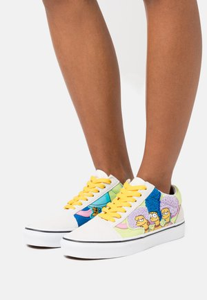 OLD SKOOL THE SIMPSONS - Trainers - white