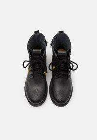 Yellow Cab - UTAH - Šněrovací kotníkové boty - black - 3