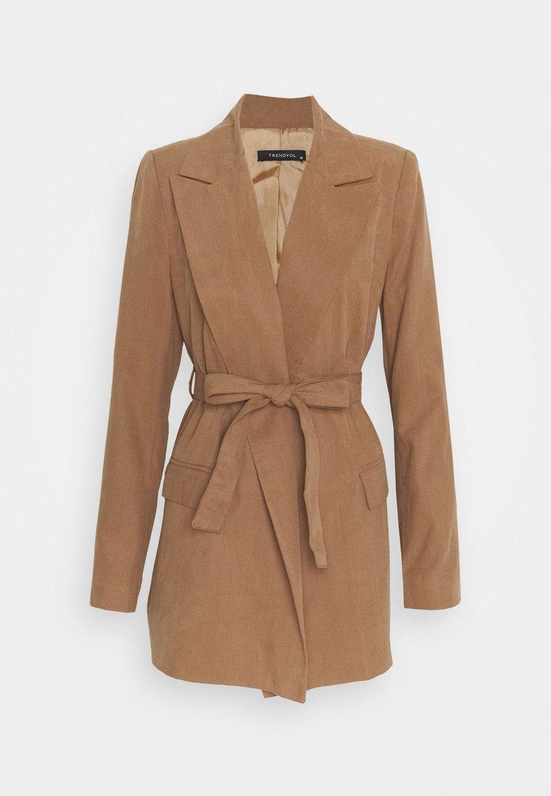 Trendyol - Short coat - camel