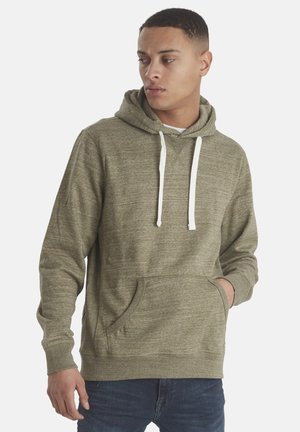 Hoodie - forest night green