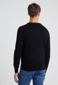 J.CREW - SOLID EVERYDAY CASH - Jumper - black - 2