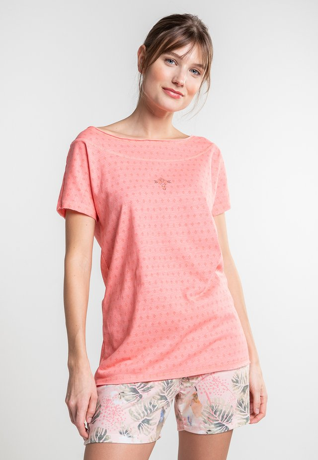 KERALA - Print T-shirt - orange