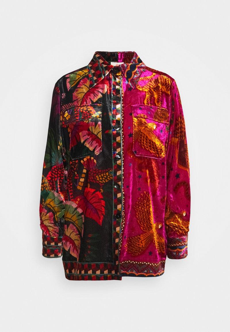 Farm Rio - MIXED SCARVES - Button-down blouse - multi