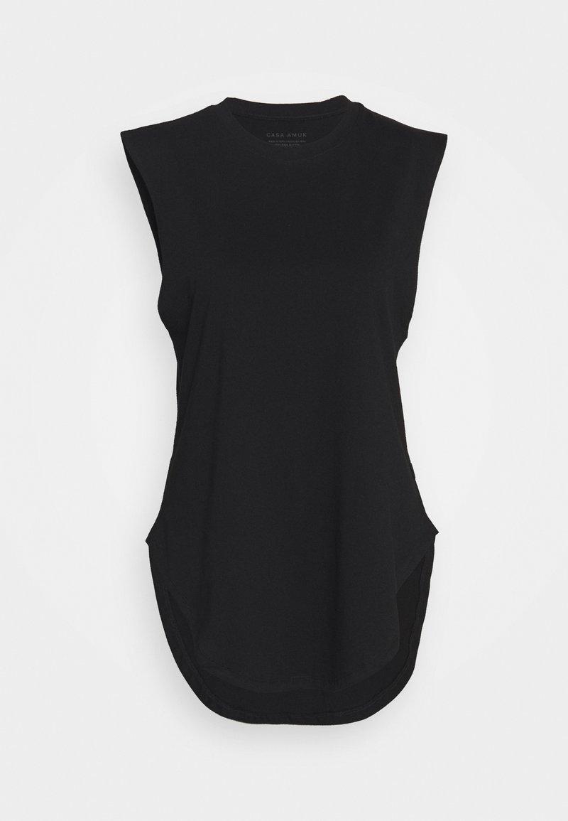 Casa Amuk - TEARDROP TANK - Basic T-shirt - black