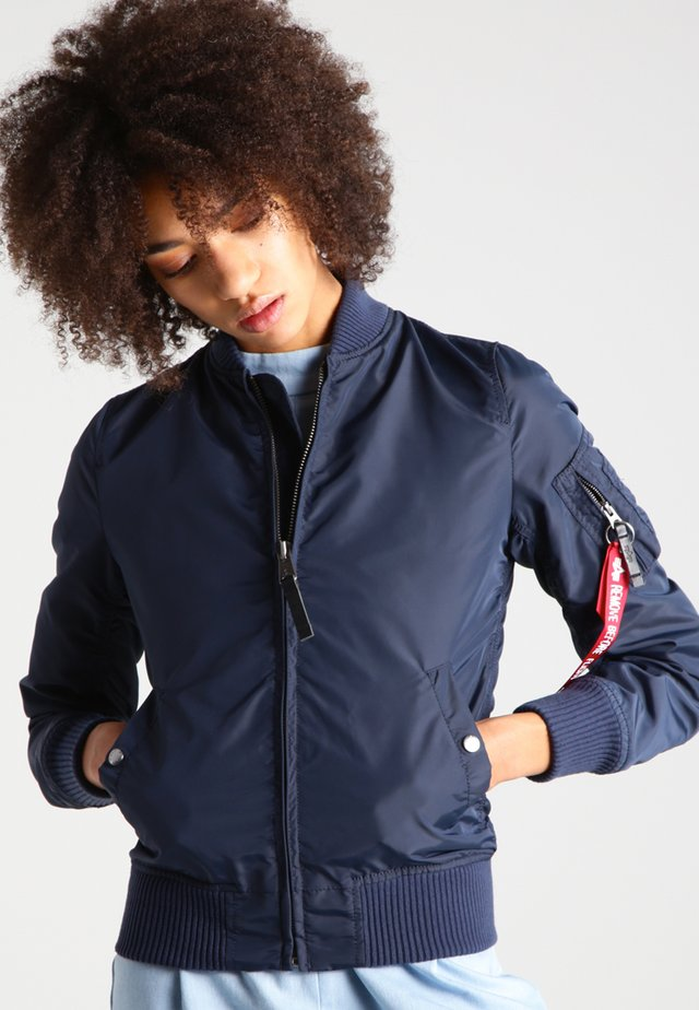 Bomber Jacket - dark blue
