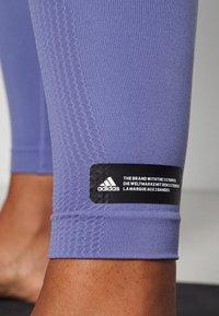 adidas Performance - SCULPT  - Tights - orbit violet - 4