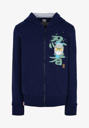 Zip-up hoodie - dark navy