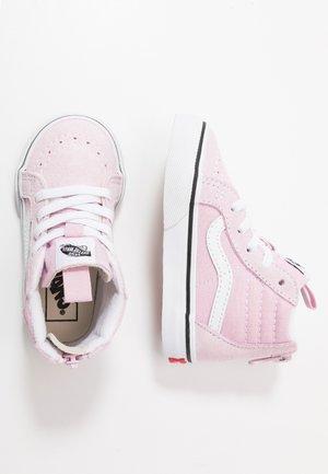 SK8 ZIP - Sneakers alte - lilac snow/true white