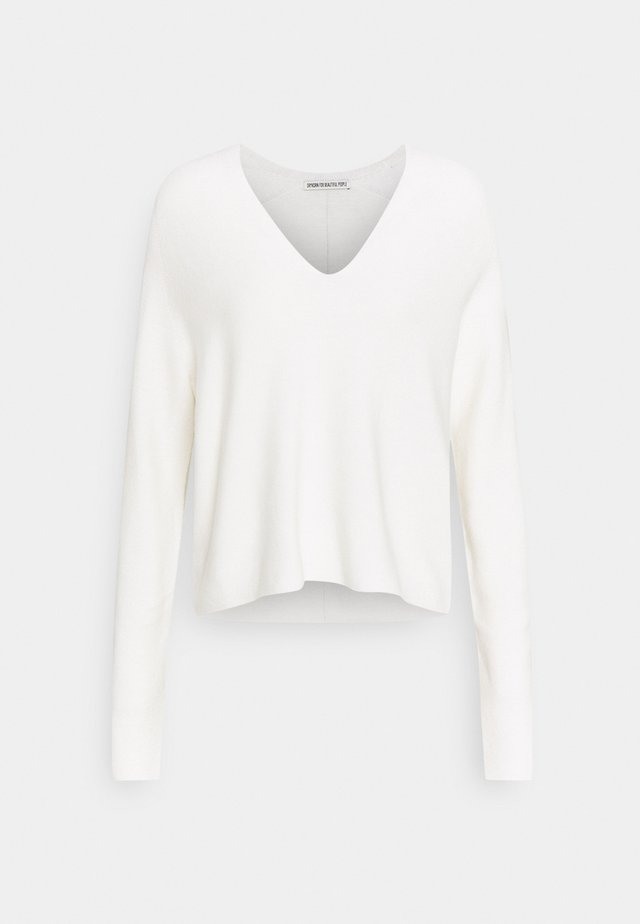 LINNIE - Sweter - off-white