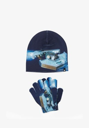 KAYA SET - Gloves - blue