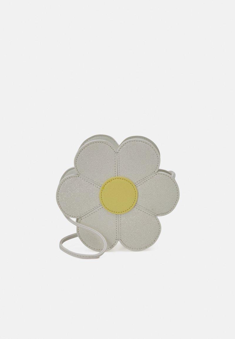 Lindex - BAG DAISY - Across body bag - light dusty white