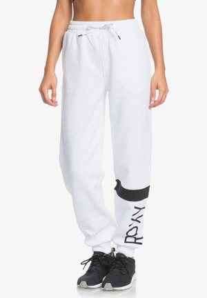 MODERN TALE  - Tracksuit bottoms - bright white