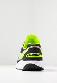 Saucony - AYA - Sneakers laag - black/neon - 3