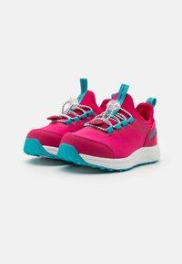 Reima - REIMATEC SHOES EDETEN UNISEX - Hiking shoes - raspberry pink - 1