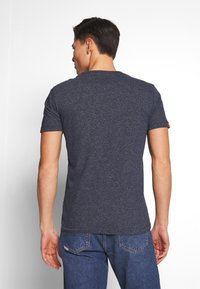 Superdry - T-shirt basique - abyss navy feeder - 2