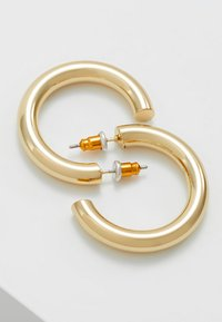 Orelia - SMALL CLEAN CHUNKY HOOP - Pendientes - gold-colored - 2