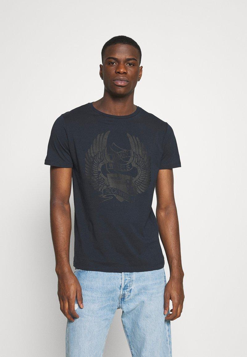 Replay - TEE - T-shirt med print - blue