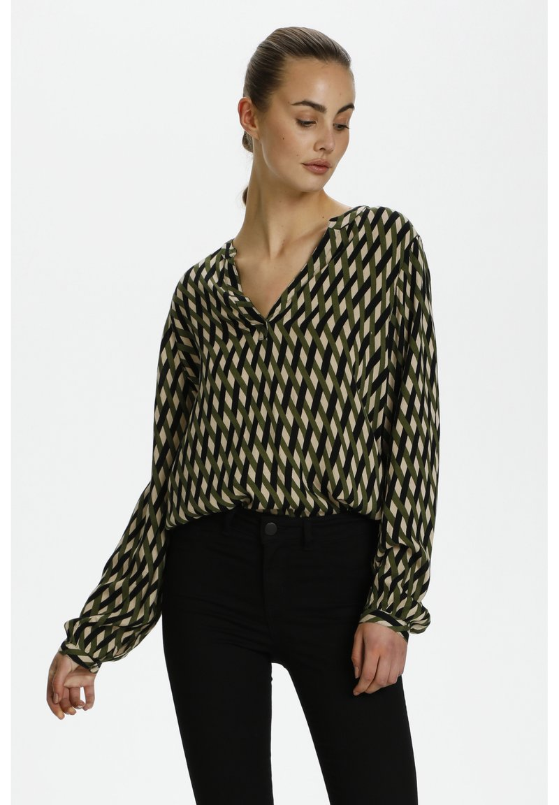 Kaffe - Blouse - green