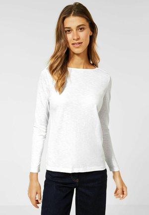 IM NEUEN STYLE - Long sleeved top - weiß