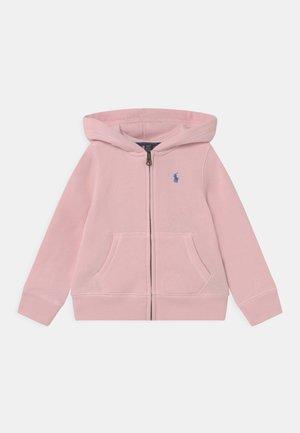 HOODIE - Mikina na zip - hint of pink