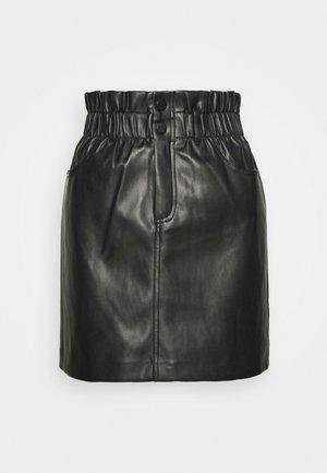 ONLMAIYA MIRI SKIRT - Mini skirt - black