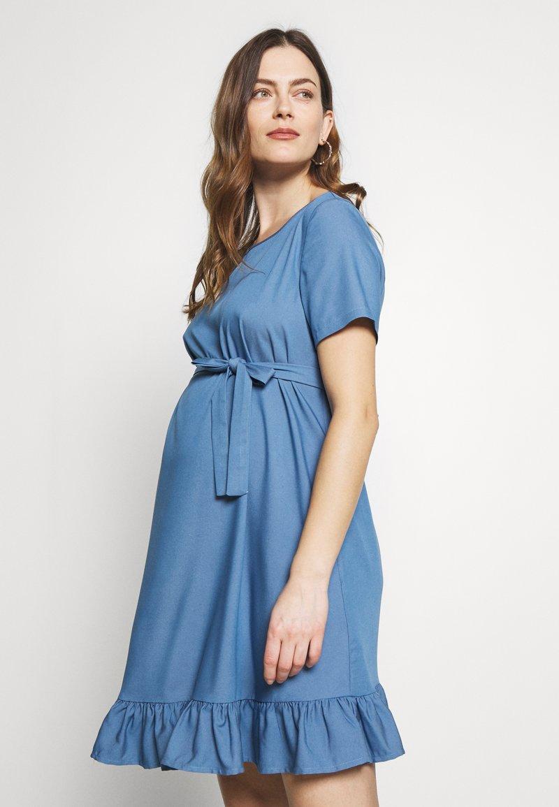 Paulina - MISSION - Day dress - blue