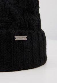 Michael Kors - CABLE CUFF HAT - Bonnet - black - 5