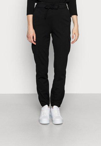 ONLPOPTRASH  - Pantaloni cargo - black