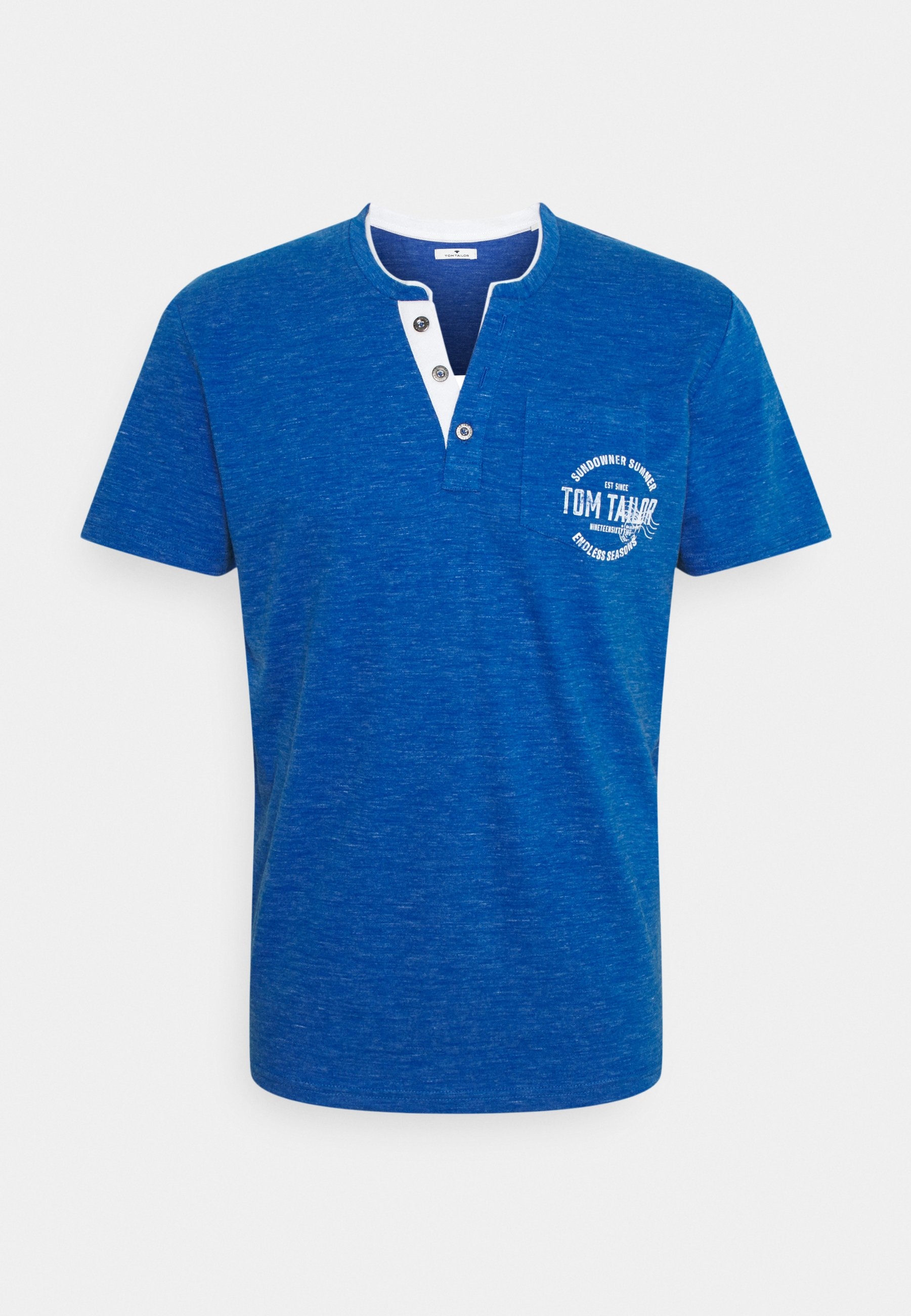 Uomo COLORFUL NEP HENLEY - T-shirt con stampa