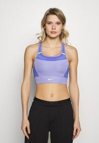 Nike Performance - POCKET BRA PAD - Sujetador deportivo - light thistle/sapphire/lemon - 0
