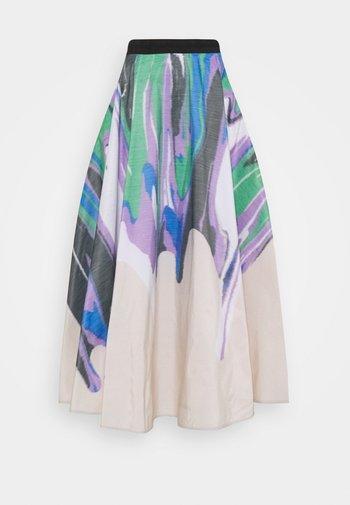TAMARINE SKIRT - Pleated skirt - multi