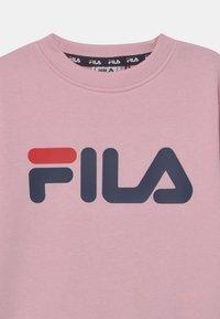 Fila - TIM LOGO CREW UNISEX - Sweatshirt - pink mist - 2