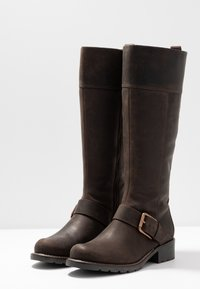 Clarks - ORINOCO JAZZ - Botas - dark brown - 4