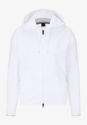ERLA - Mikina na zip - weiß