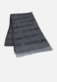 Emporio Armani - SCARF UNISEX - Scarf - grey - 1