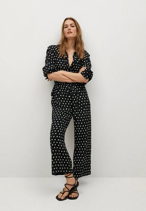 TIGER - Jumpsuit - black