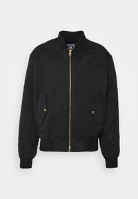 Versace Jeans Couture - MATELASSE BAROQUE  - Bomber Jacket - black - 5