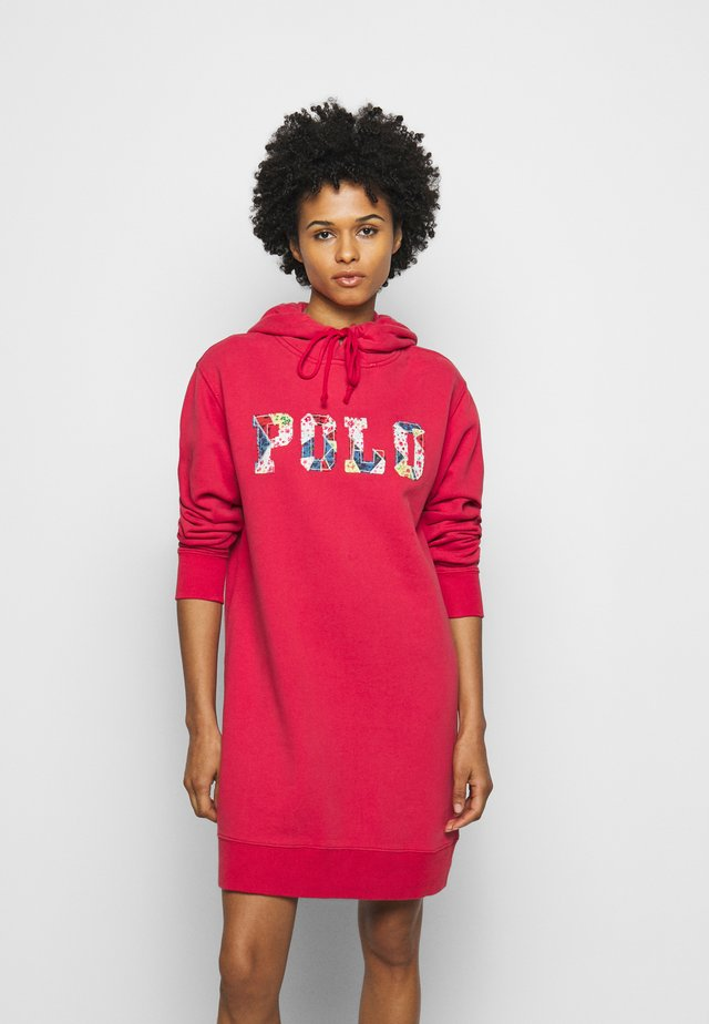 LONG SLEEVE CASUAL DRESS - Day dress - starboard red