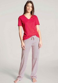 Calida - Pyjama bottoms - barberry red - 1