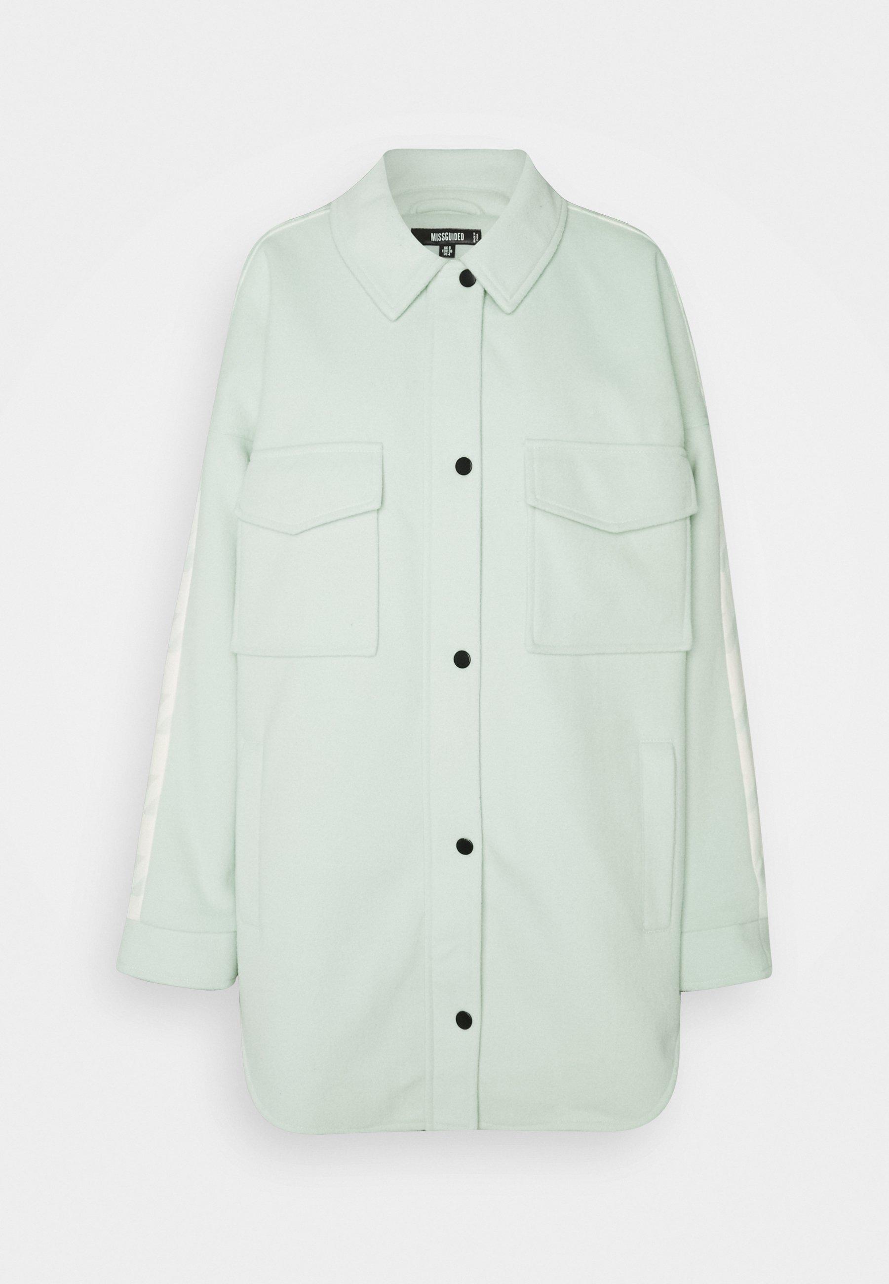 Women HOUNDSTOOTH BACK SPLICED SHACKE - Fleece jacket
