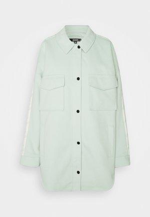 HOUNDSTOOTH BACK SPLICED SHACKE - Fleece jacket - mint