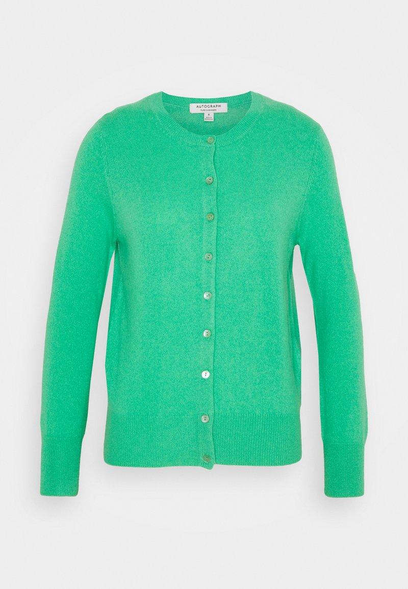 Marks & Spencer London - CREW - Kardigan - mint