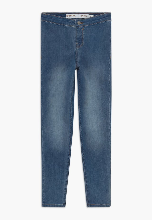 JEGSTER - Jeans Skinny Fit - light-blue denim