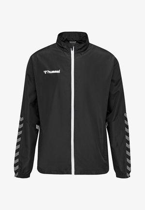 AUTHENTIC MICRO - Training jacket - black/white