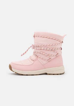 NOVEN - Winter boots - rosé/offwhite
