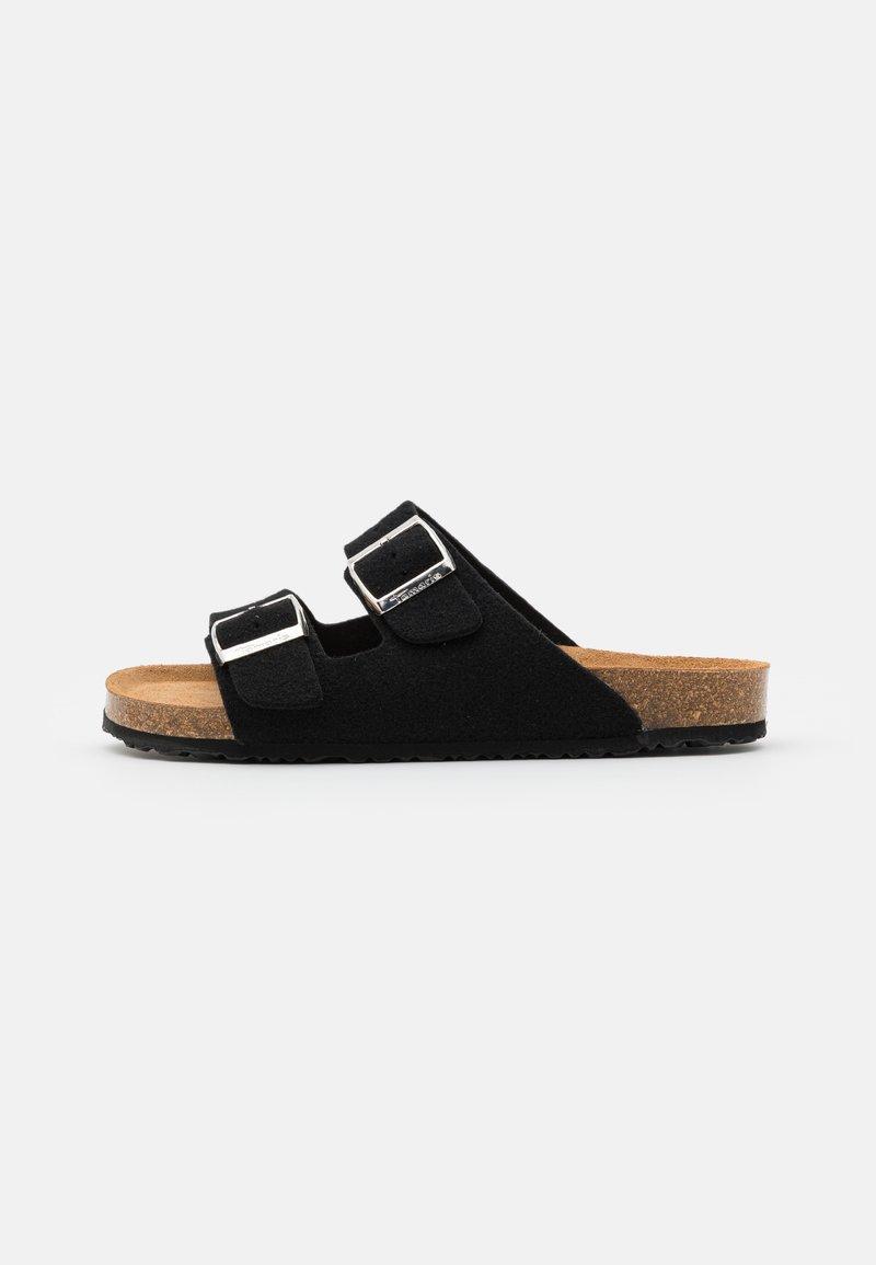 Tamaris - SLIDES - Slippers - black