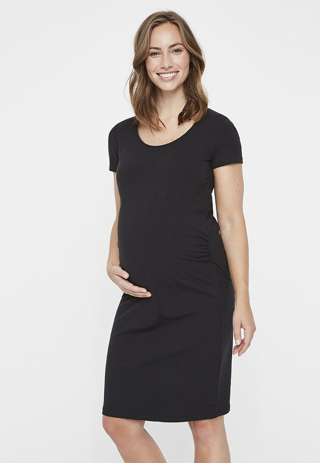 MLLEA DRESS - Trikoomekko - black